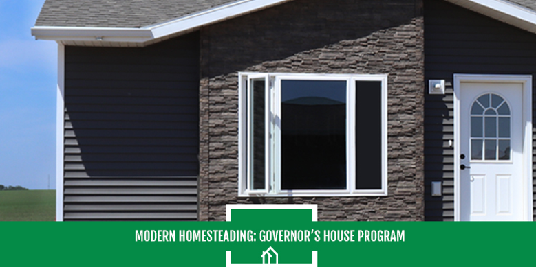 Modern Homesteading- The SDHDA Governor's House