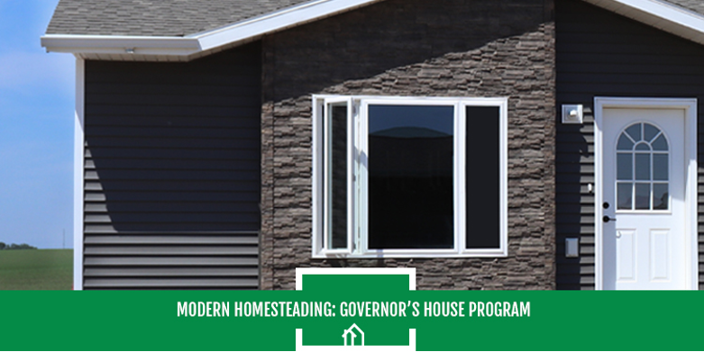 Modern Homesteading- The SDHDA Governor's House Program